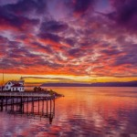 """Mukilteo Lighthouse Sunset"" is by David Welton."