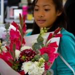 Kirsten Lor keeps the flowers flowing to customers.
