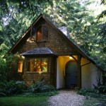 One of the cottages available for writers during their sabbaticals