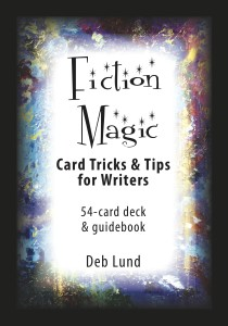 """Fiction Magic: Card Tricks & Tips for Writers""  Illustration courtesy of Deb Lund"