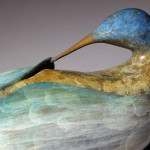 RSGallery - detail from Solitude - for WLM bronze sculpture by Sharon Spencer
