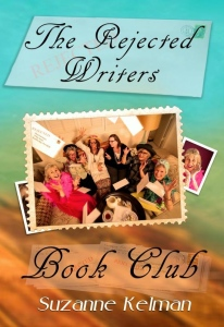 "The book cover of Suzanne's book, ""The Rejected Writers Book Club"""