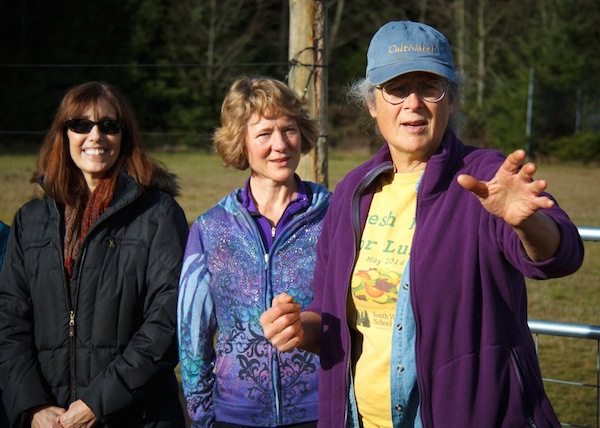 Debra Davies, Kimmer Morris and Cary Peterson