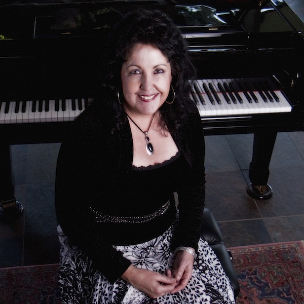 Maureen Girard has produced the 88 Keys Piano Club House Concert series for 10 years (photo courtesy of the artist)