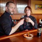 John-Paul and Jess Dowdelll, owners of the Roaming Radish   (photo by David Welton)