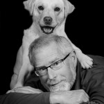Chris Spencer and his dog Fred   (photo by Michael Stadler)