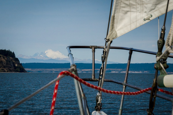 Mt. Baker as seen from the Suva (photo by Kim Tinuviel)