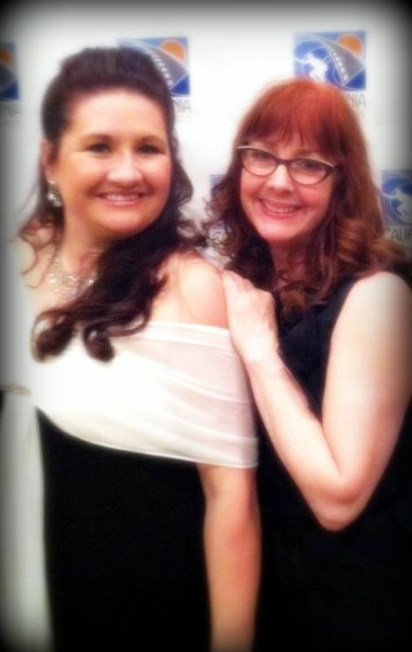 Suzanne and Rosie at the CA Film Awards 2013