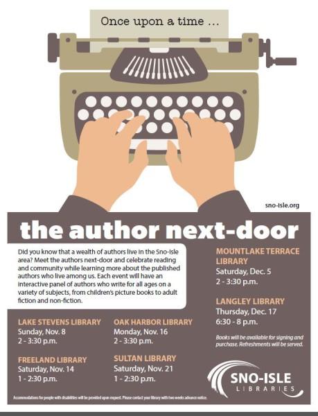 Author next-door