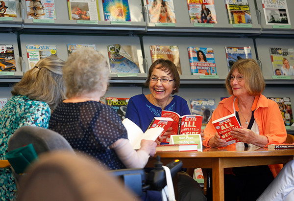 Oak Harbor's Book Club (photo by Annie Mulligan for Sno-Isle Libraries)