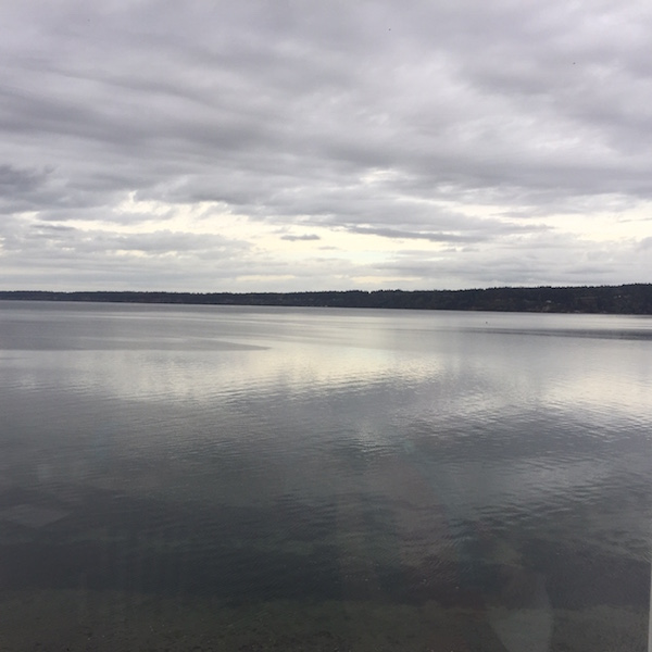 Where water meets sky, sky meets water (photo by Judith Walcutt)