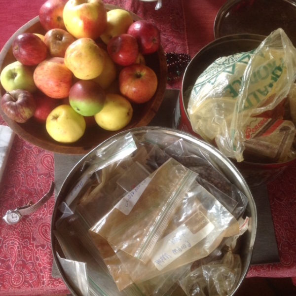 Fruit, spice, and time make gleaned chutney sublime. (photo by Judith Walcutt)