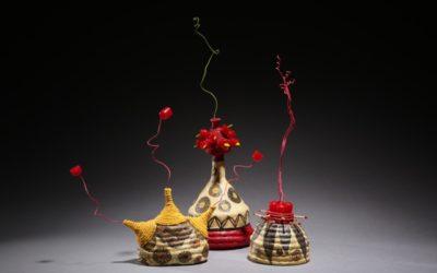 woven sculptures