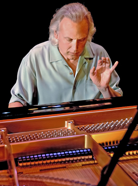 David Lanz in performance at the piano. (Photo courtesy of the artist)