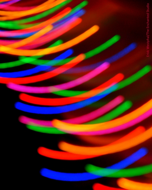 """Lights 1"" by photographer Erick Westphal is available at Inspired Arts."