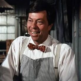 The late Joe Conley as Ike Godsey on the set of the Waltons. (Photo courtesy of deadline.com)