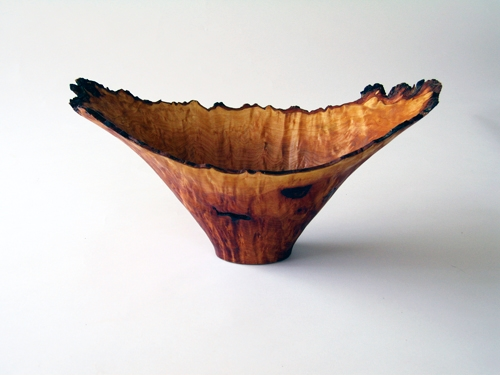 Coupeville woodworker Jim Short's vessels feature a live edge. (All photos courtesy of the artists)