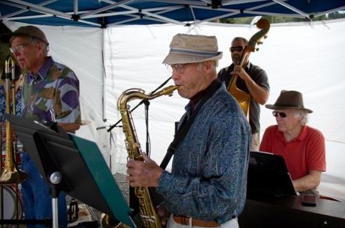 Phil Lanahan on sax.
