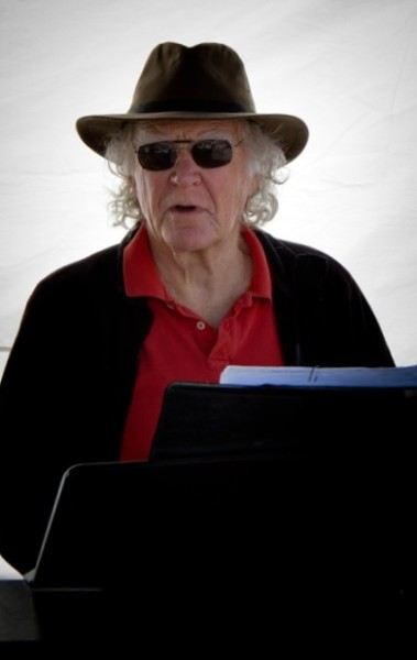 Kirk Prindle, senior, at the piano on market day. (All photos by David Welton, www.davidweltonphoto.com)