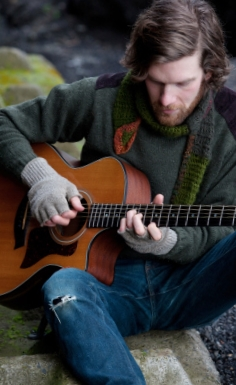 Nathaniel Talbot will lend his mad fingerstyle guitar skills and dulcet singing voice to the festival. (Photo courtesy of the artist)