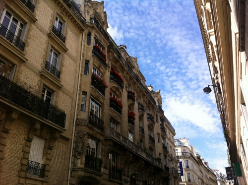 Looking up and sideways in Paris. (Joni Takanikos photo)