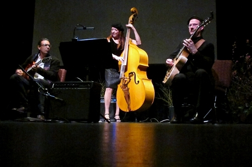 Troy Chapman, Kristi O'Donnell and Keith Bowers are Trio Nouveau. (Photo courtesy of Kristi O'Donnell)