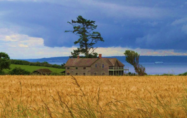 The Ferry House at Ebey's Landing is one of the important historic landmarks in Coupeville. (Photo courtesy of Ebey's Forever Fund)
