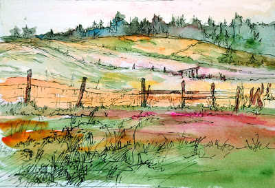 Faye Castle Sketcher Greenbank farm walking trails copy (400x273)