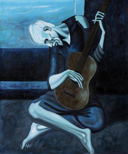 Pablo Picasso Old Guitarist (417x500)