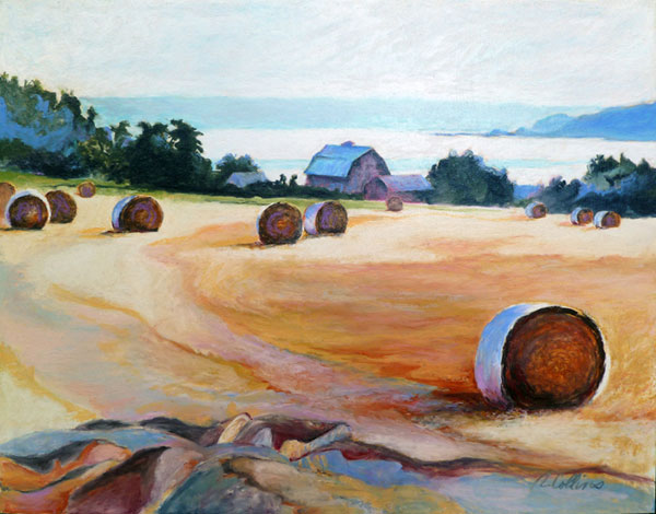 Penn-Cove;-oil-pastel;-11x14