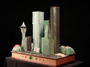 """The Emerald City"" Photo by JW Desserts, used with permission"