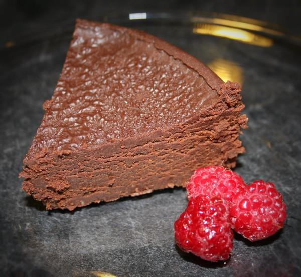 """Dreamy flourless chocolate-espresso tort"" Photo by Susan Wenzel"