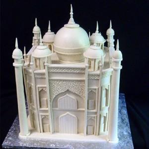 """Taj Mahal cake"" Photo by JW Desserts, used with permission"