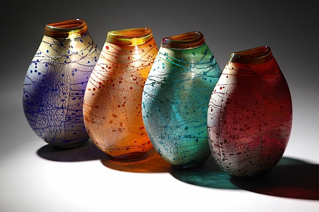 RSGallery - Handblown vases with silver overlay - Adamson & Swalwell (640x427)