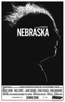 """Poster for the Acadaemy Award movie, """"Nebraska"""""""