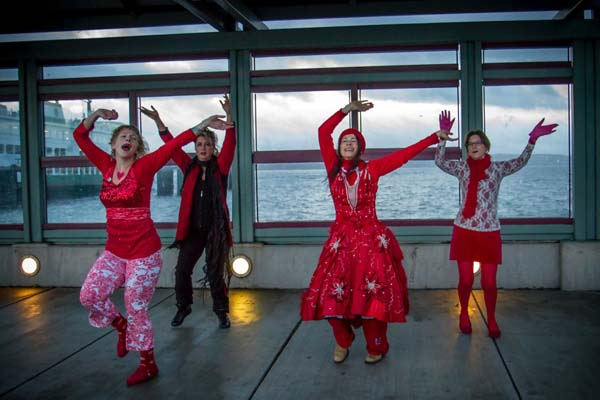 Pictured left to right: Sommer Joy Albertsen, Heidi Sebastion, Jeanette Eveland  and Maureen Momo Freehill.