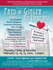 """Fred & Ginger - No Dancing"" poster"