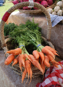 bushel of carrots