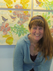 Artist Melissa Koch (photo credit Linda Tippens)