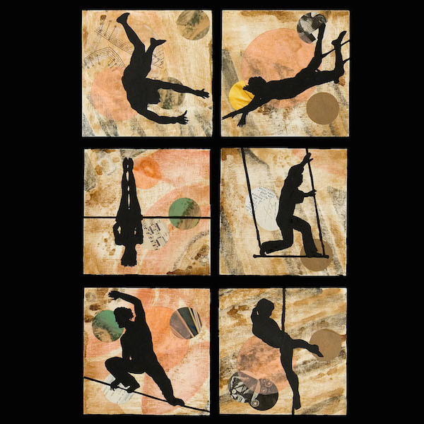 """Fancy Free"" Six panels by Melissa Koch (photo courtesy of the artist)"