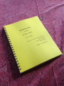 "Judith Walcutt's own ""Zeno's Paradox"" novel—holding at version 5.5 of draft 28"