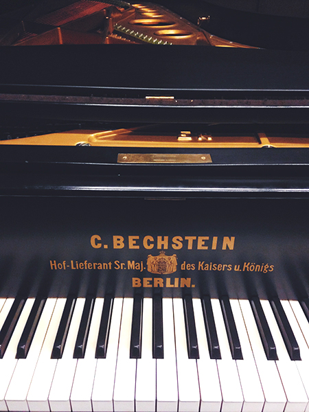 A generous group of donors compiled the funds to purchase the 12' Concert Grand Bechstein Piano which will debut at this year's PianoFest. (photo by Kathryn Lynn Morgen / WICA)