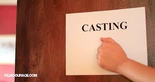 Casting door