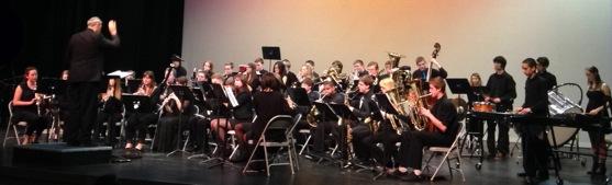South Whidbey High School Wind Ensemble (photo by Robin Bush)