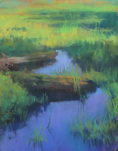 """Morning Brilliance"" pastel by Annette Hanna. / Photo courtesy of the artist"