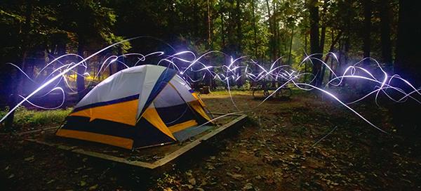 Night Camp, Smoky Mountains (photo by Chris Korrow)