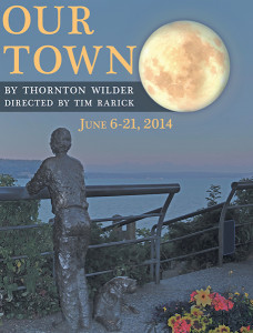 "Poster for WICA's ""Our Town"""