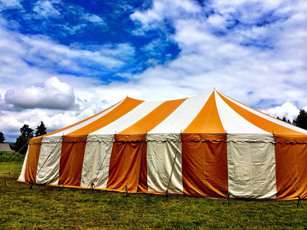 Ready for Some Theatre Under the Big Top!  (photo by Rose Woods)