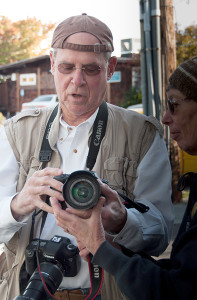 David Welton at the Langley Photowalk  (photo by Kim Tinuviel)