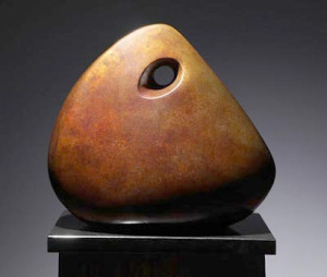 Abstract, bronze by Jeff Day  (photo courtesy of Jeff Day)